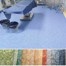 Antibacterial Hospital PVC floor rolls Homogeneous vinyl Floor